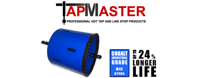 PipeManProducts.com TapMaster Triple Stack Xtra Deep Bi Metal Hole Saw